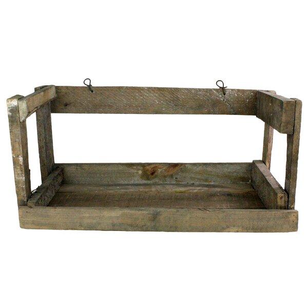 Koa Crate Wall Shelf by Millwood Pines