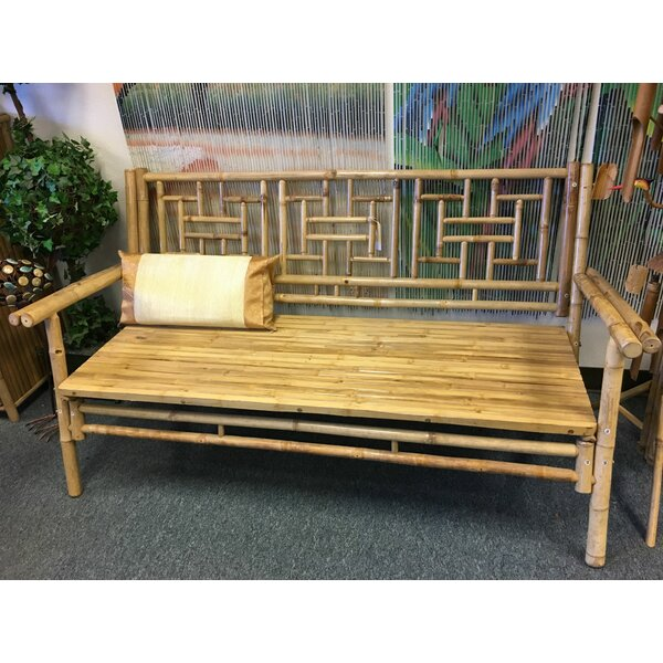 Abrego Standard Wooden Garden Bench by Bay Isle Home