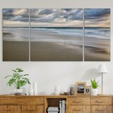 Global Gallery Brookview Studio Foggy Pier Giclee Stretched Canvas Artwork 18 x 18