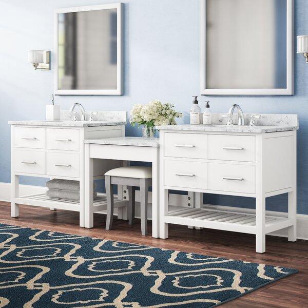 Carrasquillo 102 Double Bathroom Vanity Set