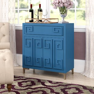 Affordable Gilbery 2 Door Wine Bar Cabinet ByEverly Quinn