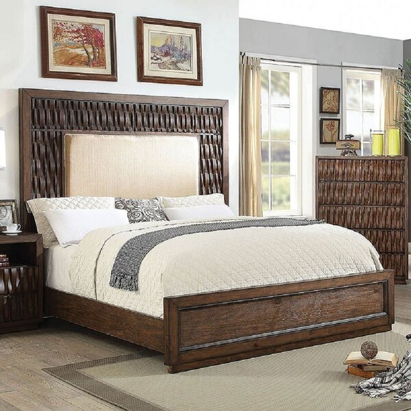 Brayan Upholstered Platform Bed by Bayou Breeze