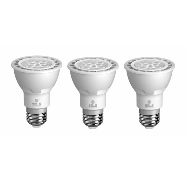 9W E26 Dimmable LED Light Bulb (Set of 3) by SELS - Smart Era Lighting Systems