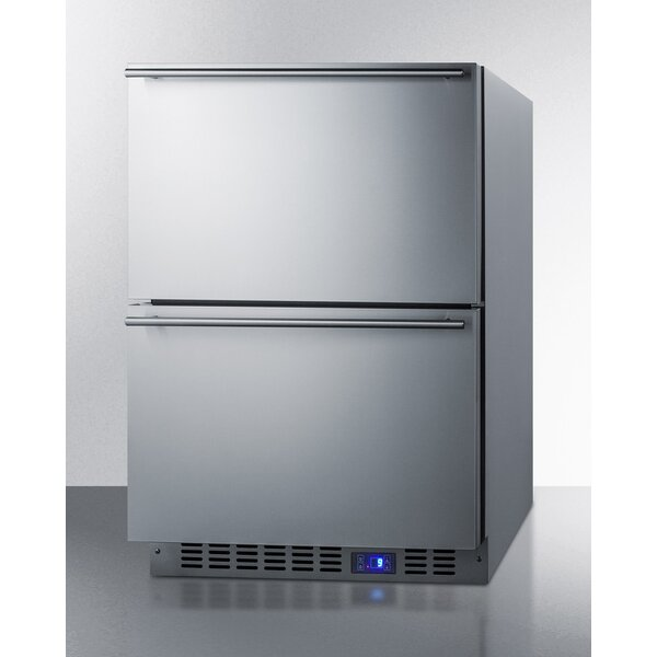 Summit Outdoor 3.4 cu. ft. Frost-Free Drawer Freezer by Summit Appliance