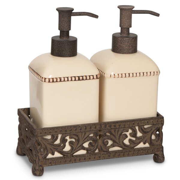 Soap and Lotion Dispenser by The GG Collection