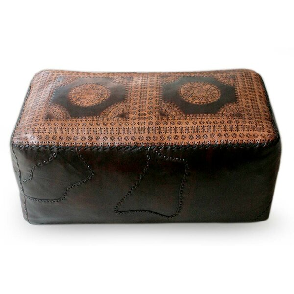 Box Cushion Ottoman Slipcover By World Menagerie