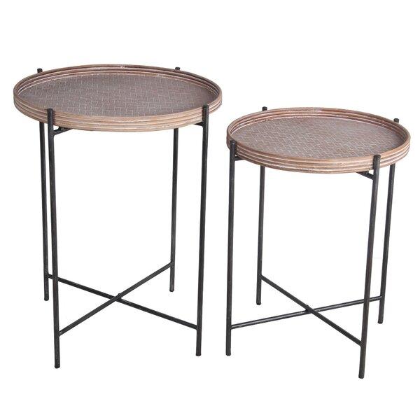 Allabaksh Tray Top Nesting Tables by Latitude Run Latitude Run