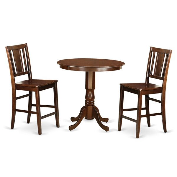 Jackson 3 Piece Counter Height Pub Table Set By Wooden Importers No Copoun