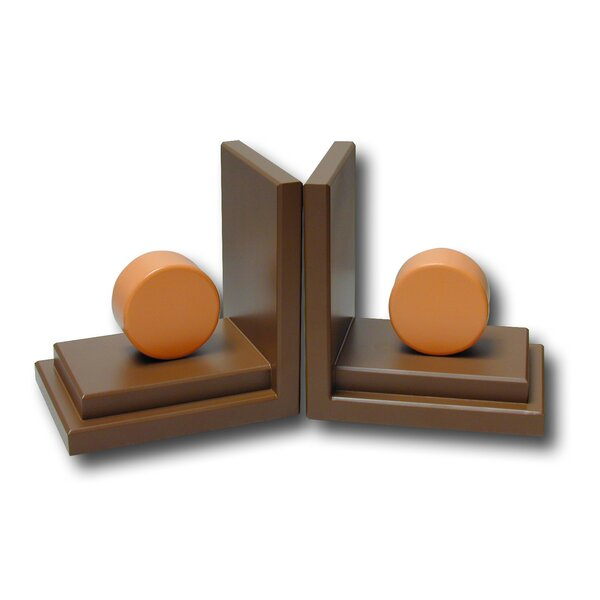 Circle Book Ends (Set of 2) by One World