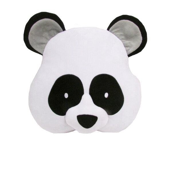 Kalia Panda Throw Pillow by Zoomie Kids