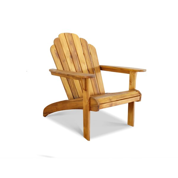 Teak Adirondack Chair by Masaya & Co