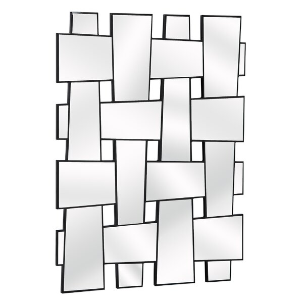 Contemporary Rectangular Wall Mirror by Brayden Studio