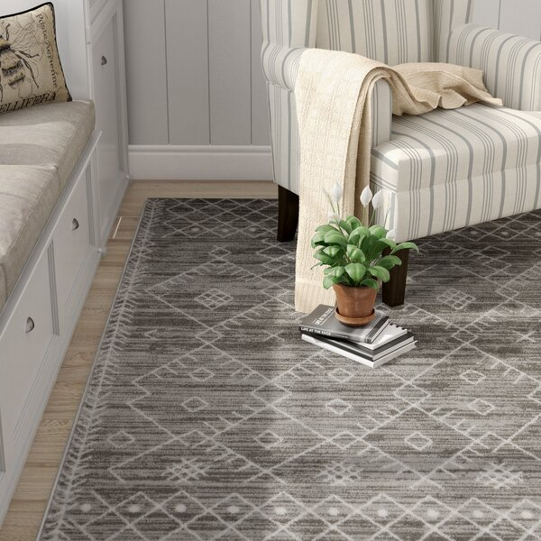 Templeton Gray Area Rug by Laurel Foundry Modern Farmhouse