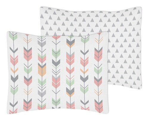 Mod Arrow Standard Pillow Sham by Sweet Jojo Designs