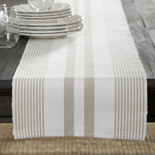 Newenton Striped Runner by Three Posts