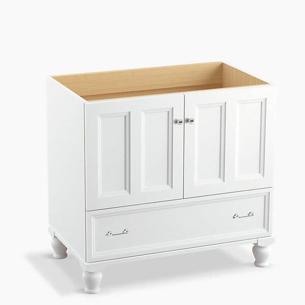 Damask Plains 36 Vanity with Furniture Legs, 2 Doors and 1 Drawer by Kohler
