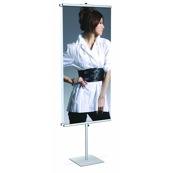GripGraphic™ Banner Stand with Double Side by Testrite