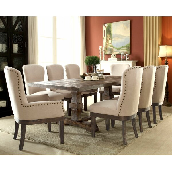 Geddes 9 Piece Dining Set by Gracie Oaks
