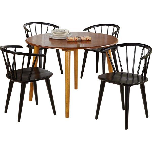 Arielle 5 Piece Oak Dining Set by Langley Street