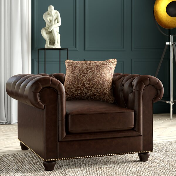 Itasca Chesterfield Chair by Greyleigh