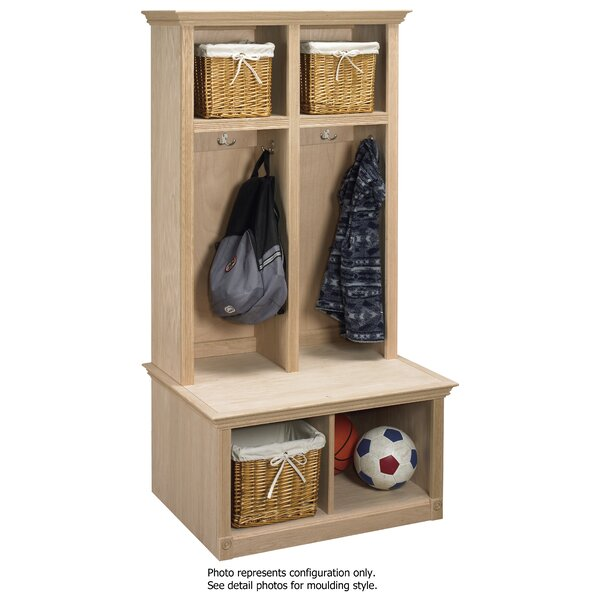 2 Piece Sit and Store Hall Tree Set by Arthur W. B