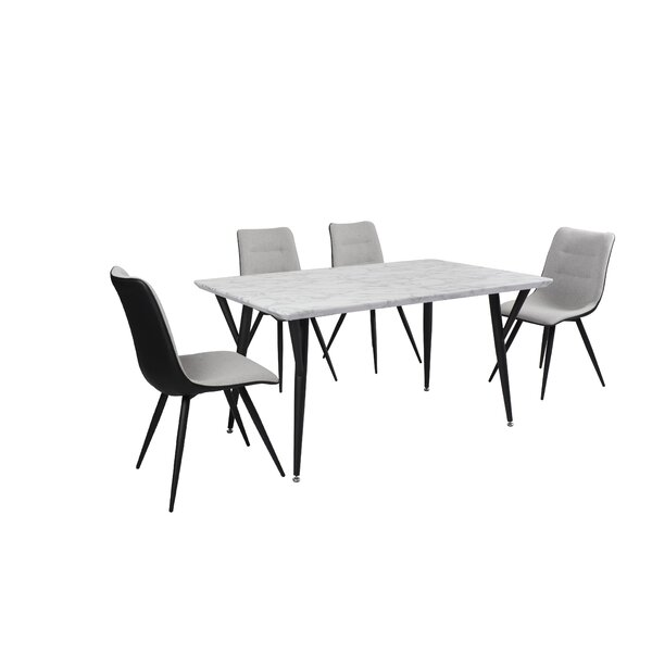 Tober 5 Piece Dining Set by Latitude Run Latitude Run