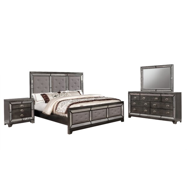 Margaret Standard 4 Piece Bedroom Set by Everly Quinn