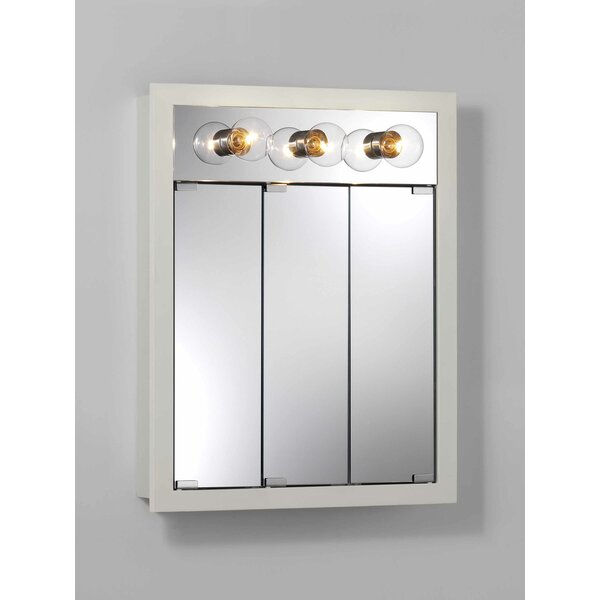 24 x 30 Surface Mount Medicine Cabinet with Lighting by Jensen