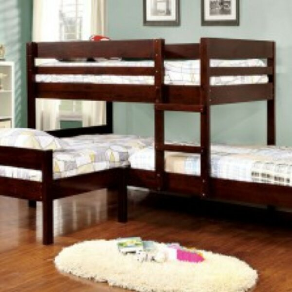 Newenton Twin Triple Bunk Bed by Harriet Bee