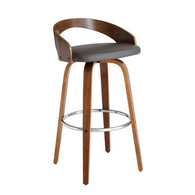 Faux Leather Metal Bar Stools You Ll Love In 2019 Wayfair