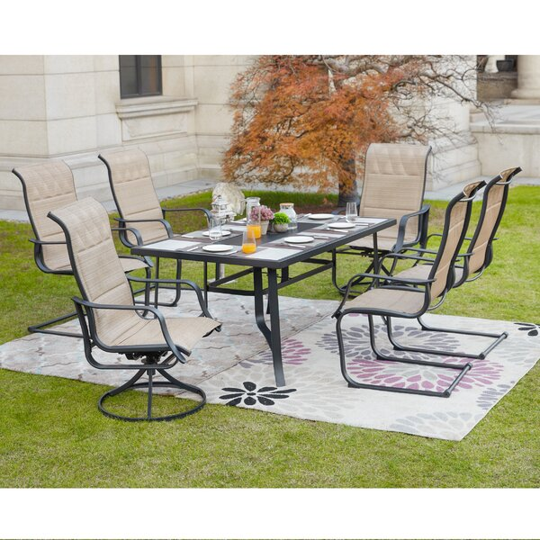 Silcox 7 Piece Dining Set by Charlton Home