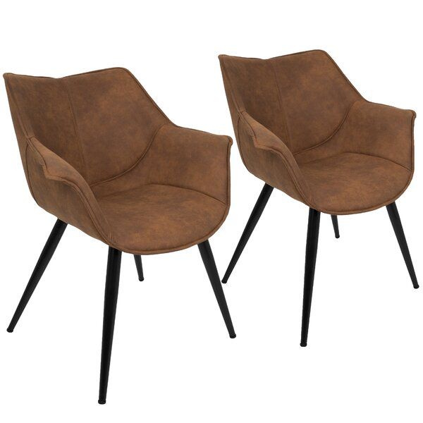 Shiloh Arm Chair (Set of 2) by Langley Street