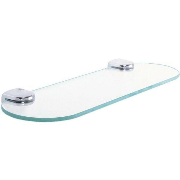 Macias Glass Wall Shelf by Latitude Run