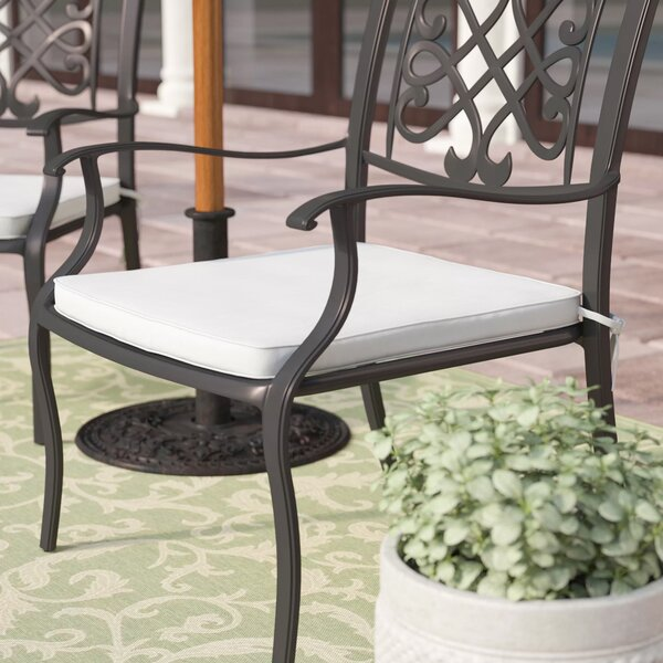 Jayne Indoor/Outdoor Sunbrella Barstool Cushion (Set of 2) by Mercury Row