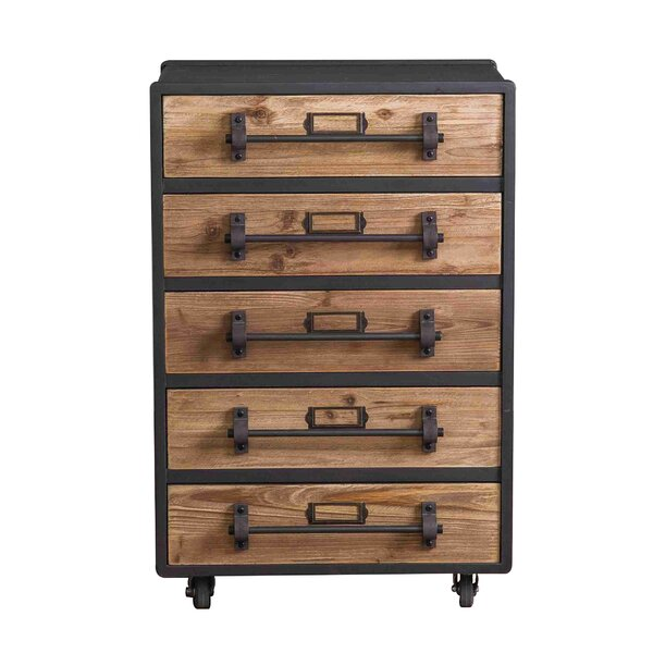 Winn 5 Drawer Accent Chest by Williston Forge