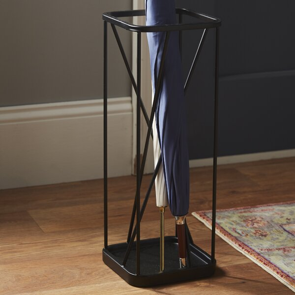 Metal Umbrella Stand by Rebrilliant