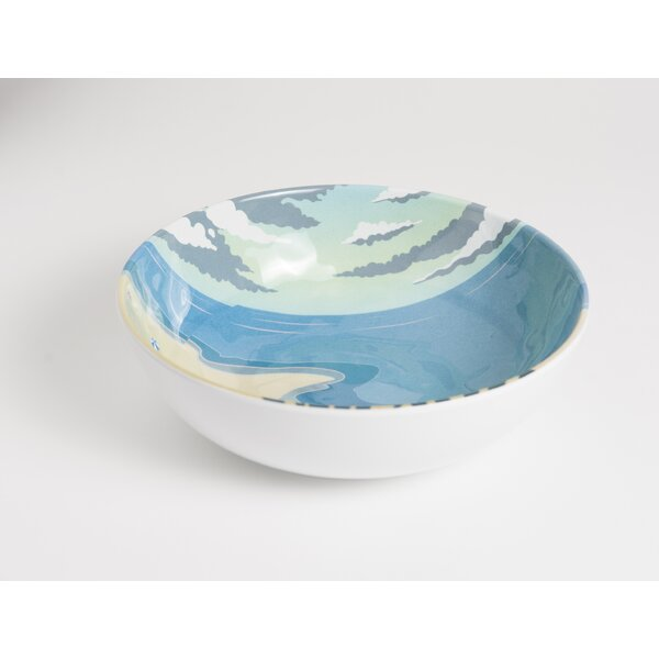 Seaside 40 oz. Melamine Soup / Cereal Bowl (Set of 6) by Galleyware Company