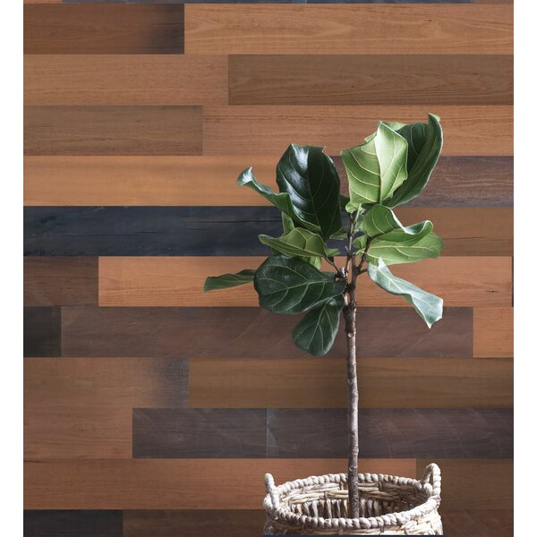3 Solid Wood Wall Paneling in Brown by Smart Paneling