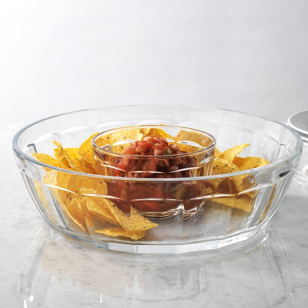 Pesina Chip and Dip Platter by Ebern Designs