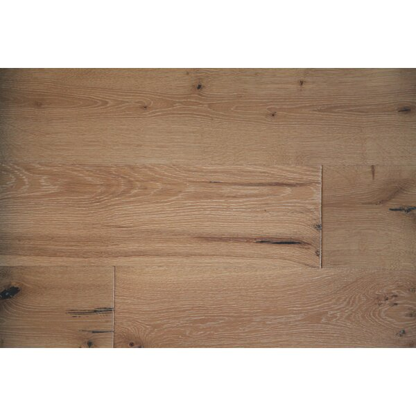 Vita Bella Plus 7 Engineered Oak Hardwood Flooring in Reddish/Natural Brown by Alston Inc.