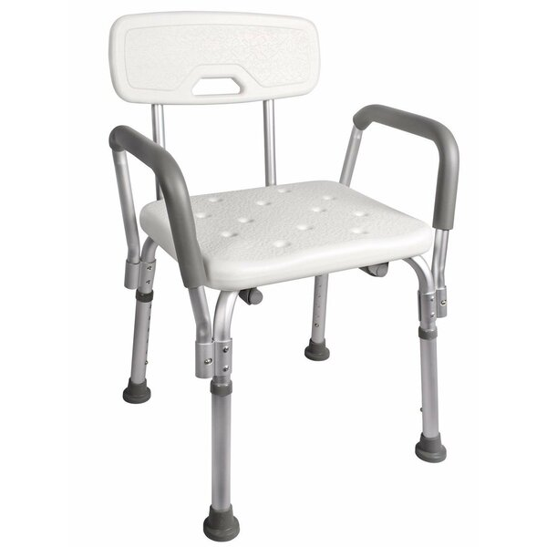 Adjustable Medical Shower Chair by Calhome