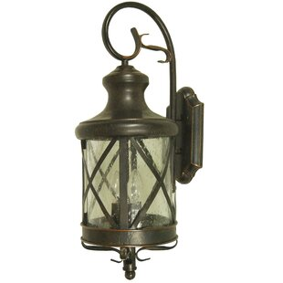 Savings Moorhouse 2-Light Outdoor Flush Mount By August Grove