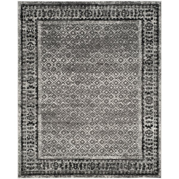 Josie Ivory / Silver Area Rug by World Menagerie