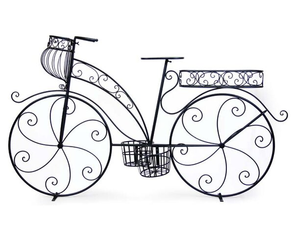 Metal Bicycle Plant Stand by Mr. MJs