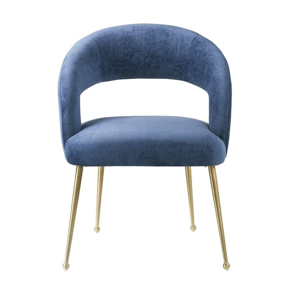 Newark Upholstered Dining Chair by Everly Quinn Everly Quinn