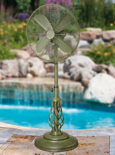 Brenton 18 Oscillating Pedestal Fan by Fleur De Lis Living