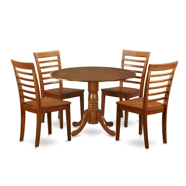 Spruill 5 Piece Extendable Dining Set by August Grove