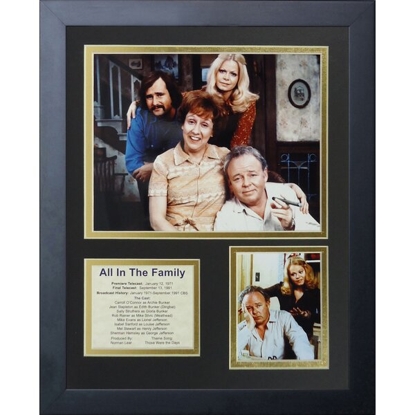 All in Framed Photographic Print by Legends Never Die