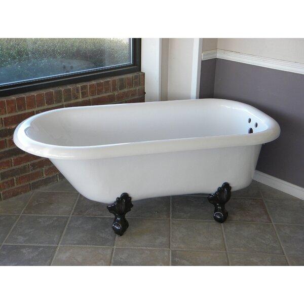 Regent 60 x 30 Freestanding Soaking Bathtub by Restoria Bathtub Company