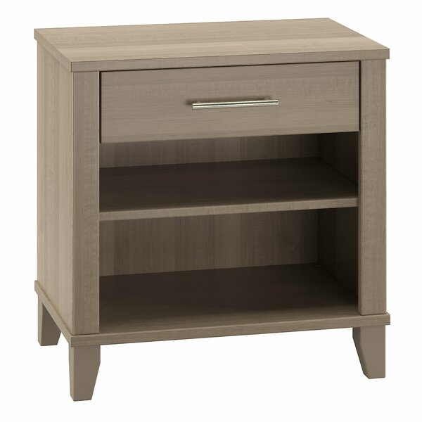 Valencia 1 Drawer Nightstand by Laurel Foundry Modern Farmhouse| @ $129.99